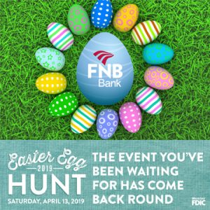 FNB's Easter Egg Hunt is Saturday, April 13