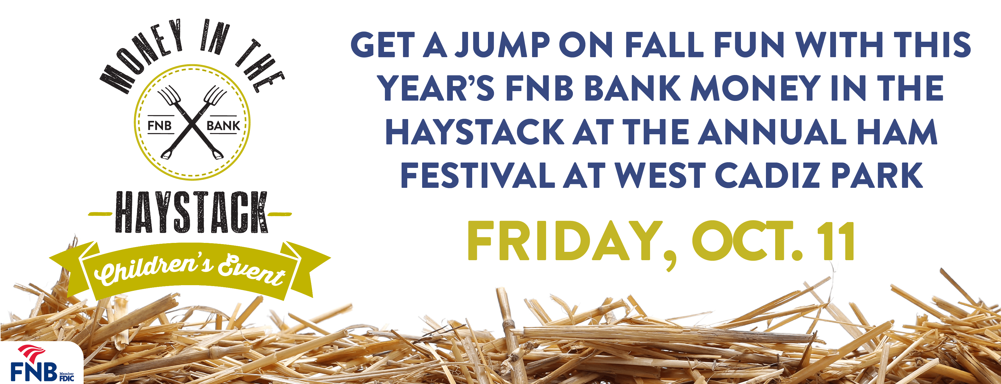 FNB Money in the Haystack Event at Ham Festival