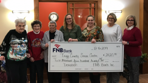 FNB Makes $2420 Donation to Trigg County Senior Citizen Center